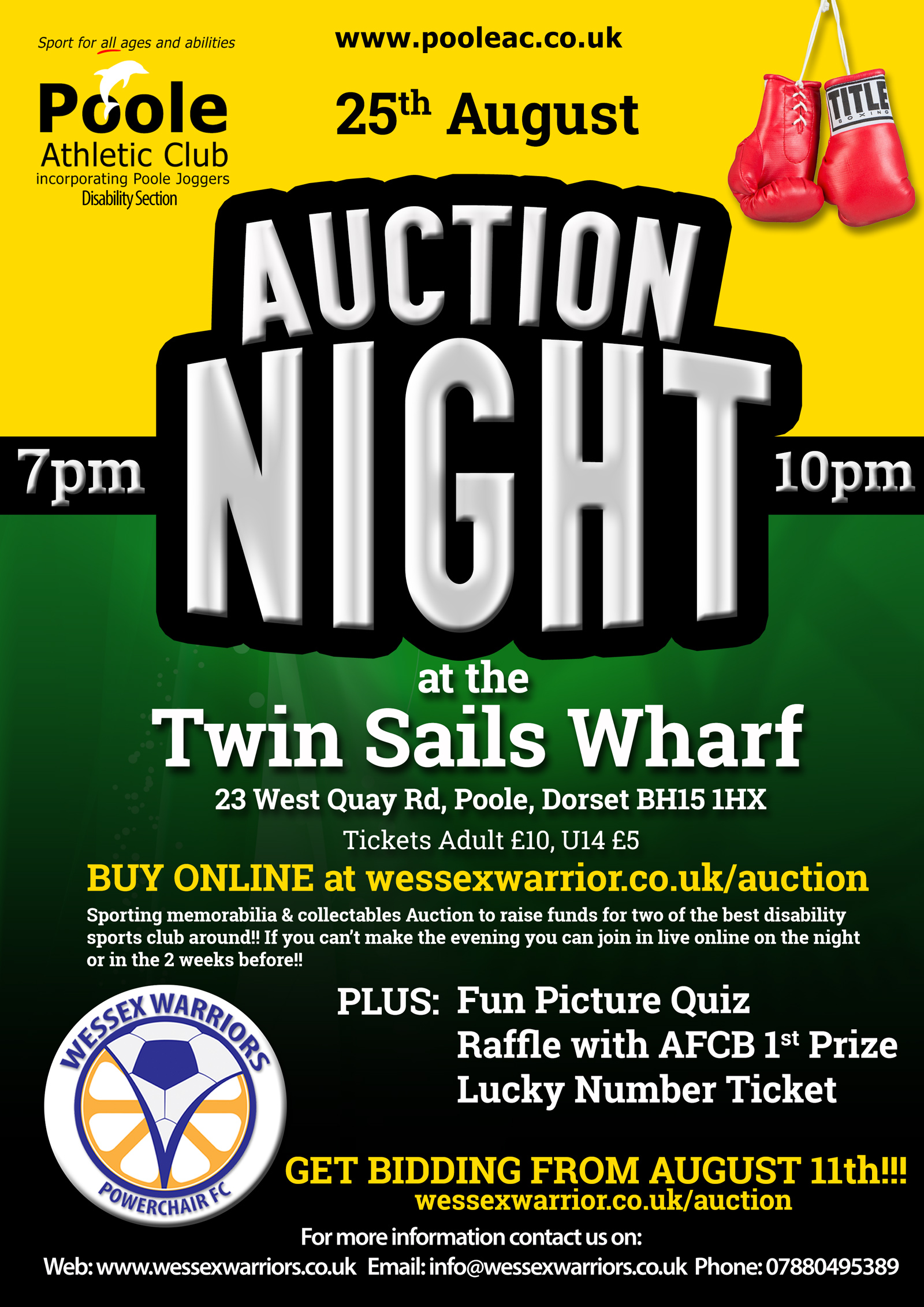 Auction & Quiz Night