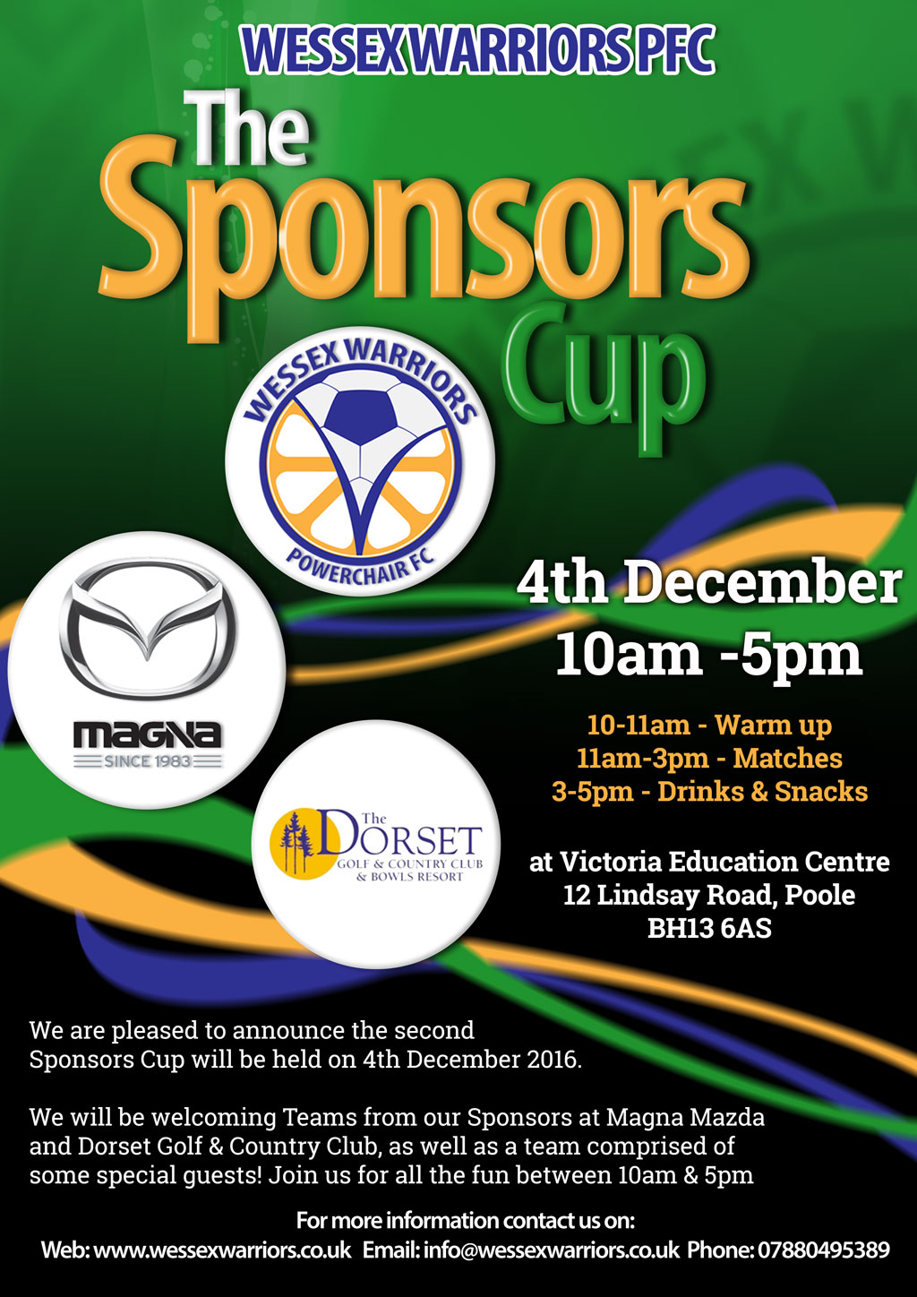 The Sponsors Cup is back!